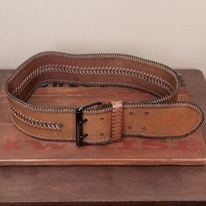 Anthropologie | Linea Pelle Leather Belt size L